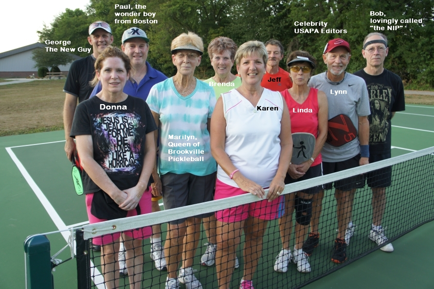 Pickleball Rocks with Lynn and Linda