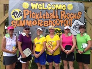 5.0 Ladies Medalist - Pickleball Rocks Summer Shootout tournament