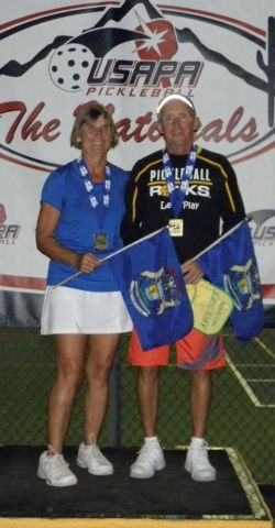 Jim and Yvonne Hackenberg at 2013 Nationals