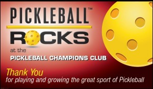Pickleball Champions Club