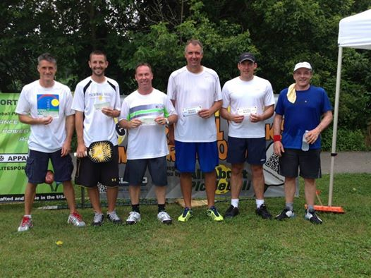 2014 Pickleball Rocks Summer Shootout Winners