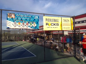 Pickleball Tournament Banners
