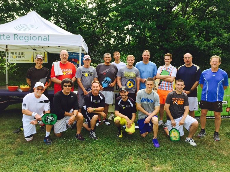 Pickleball Rocks 5.0 Summer Shootout players
