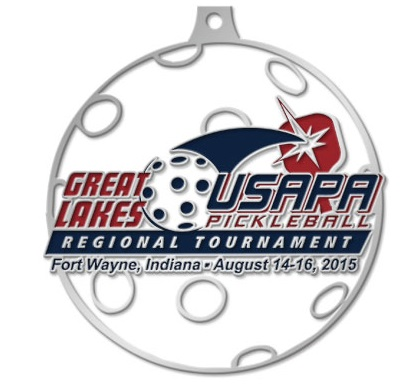 Medals for Great Lakes Regional Pickleball Tournament