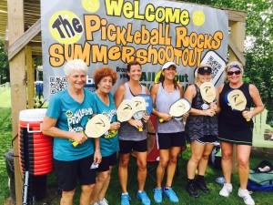 3.0 Ladies Shootout Winners